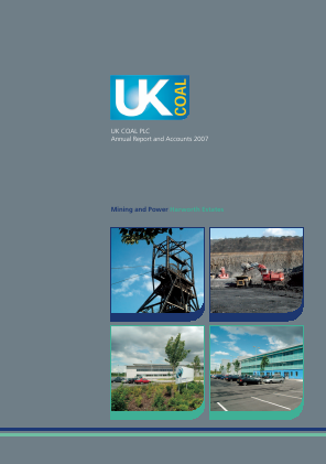 Harworth Group Plc annual report 2007