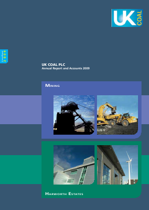 Harworth Group Plc annual report 2009