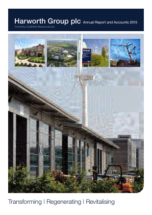 Harworth Group Plc annual report 2015