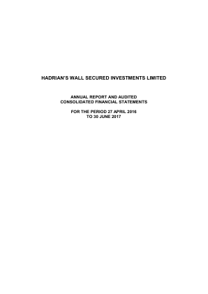 Hadrians Wall Secured Investments annual report 2017