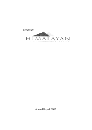 Himalayan Fund NV annual report 2005
