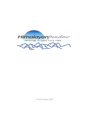 Himalayan Fund NV annual report 2009