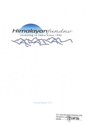 Himalayan Fund NV annual report 2011
