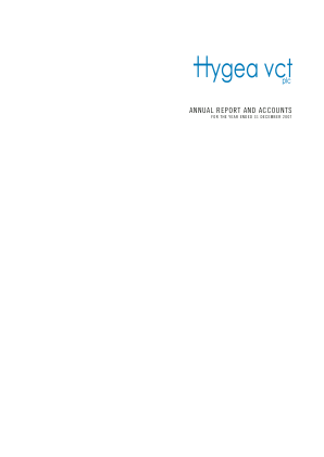 Hygea VCT annual report 2007