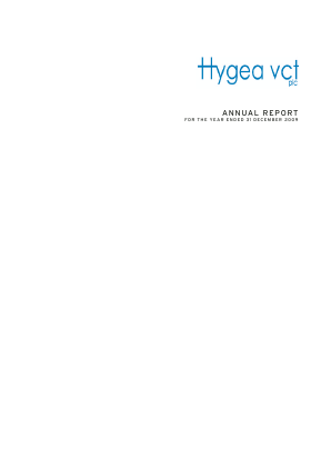 Hygea VCT annual report 2009