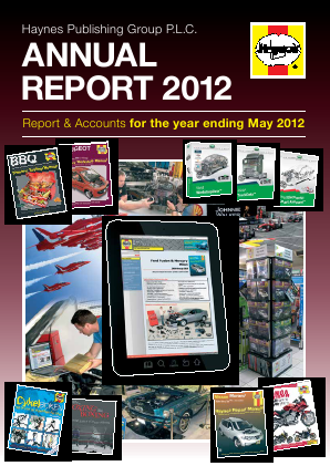 Haynes Publishing Group annual report 2012