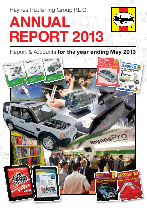 Haynes Publishing Group annual report 2013