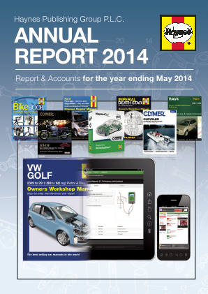 Haynes Publishing Group annual report 2014