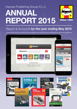 Haynes Publishing Group annual report 2015