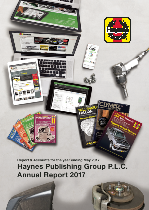 Haynes Publishing Group annual report 2017