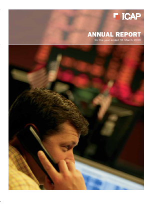 NEX Group (previously ICAP) annual report 2006