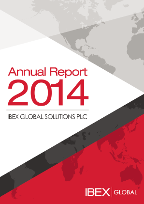 Ibex Global Solutions Plc annual report 2014