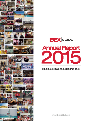 Ibex Global Solutions Plc annual report 2015