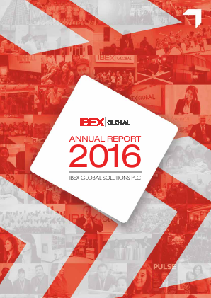 Ibex Global Solutions Plc annual report 2016