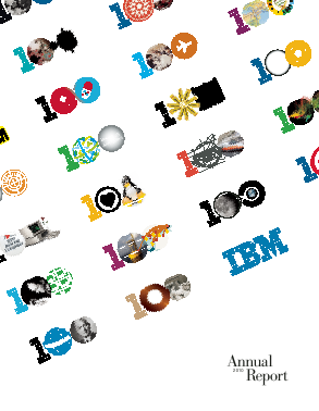 IBM annual report 2010
