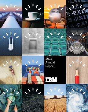 IBM (International Bus Mach Corp) annual report 2017