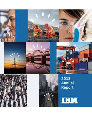 IBM (International Bus Mach Corp) annual report 2018