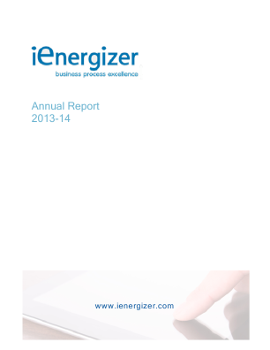 Ienergizer annual report 2014