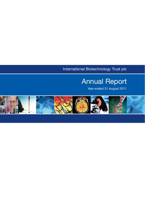 International Biotechnology Trust annual report 2011