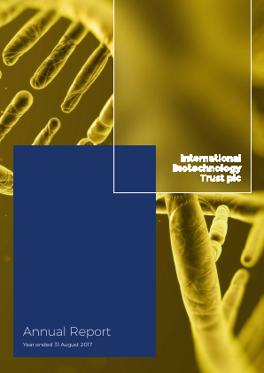 International Biotechnology Trust annual report 2017