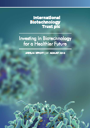 International Biotechnology Trust annual report 2018