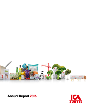 ICA Gruppen annual report 2016