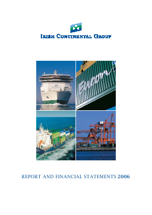 Irish Continental Group annual report 2006