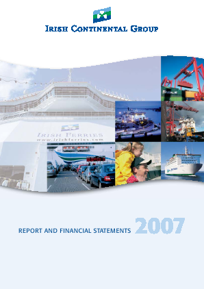 Irish Continental Group annual report 2007