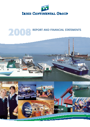 Irish Continental Group annual report 2008