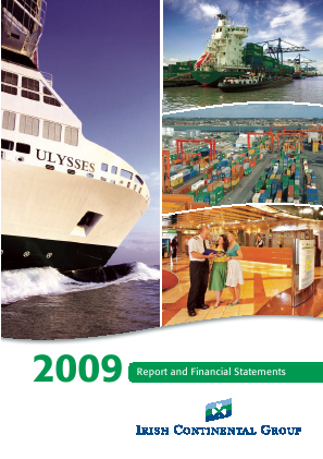 Irish Continental Group annual report 2009