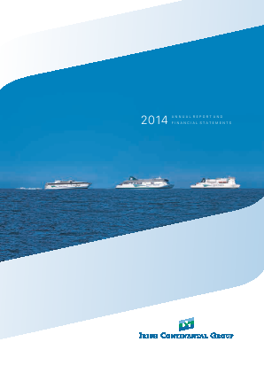 Irish Continental Group annual report 2014