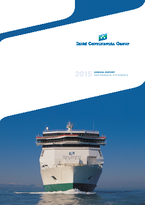 Irish Continental Group annual report 2015