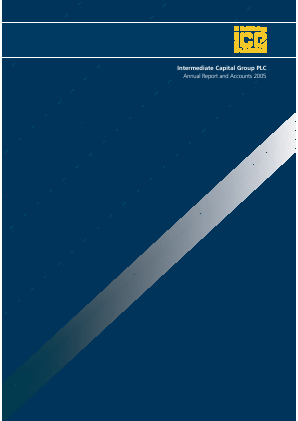 Intermediate Capital Group annual report 2005