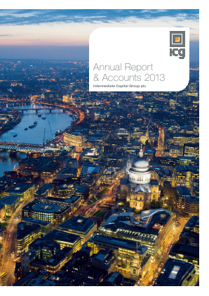 Intermediate Capital Group annual report 2013