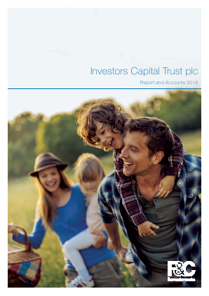 F&C UK High Income Trust plc (previously Investors Capital Trust Plc) annual report 2016