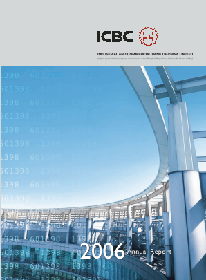 Industrial & Commercial Bank of China annual report 2006