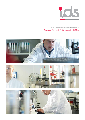 Immunodiagnostic Systems Holdings annual report 2014