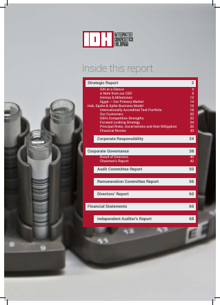 Integrated Diagnostics Holdings Plc annual report 2015