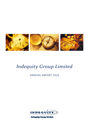 Indequity Group annual report 2016