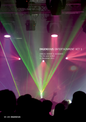 Ingenious Entertainment VCT 1 Plc annual report 2011