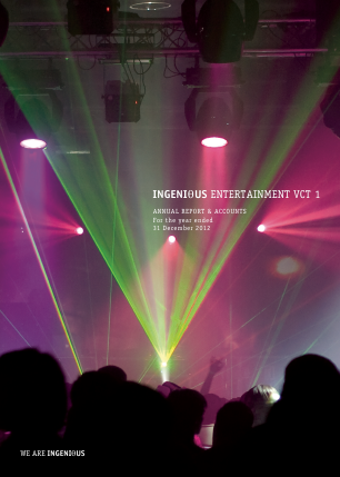 Ingenious Entertainment VCT 1 Plc annual report 2012