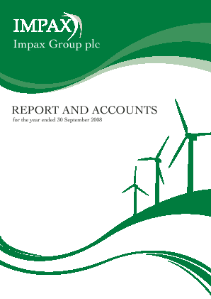 Impax Environmental Markets Plc annual report 2008