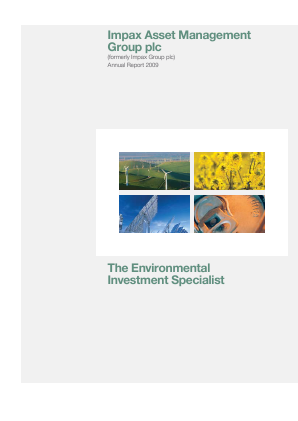 Impax Environmental Markets Plc annual report 2009