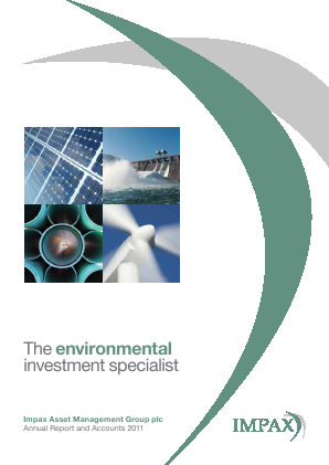 Impax Environmental Markets Plc annual report 2011