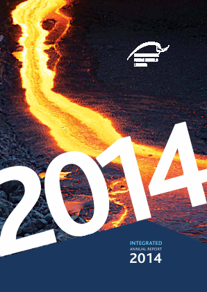 International Ferro Metals annual report 2014