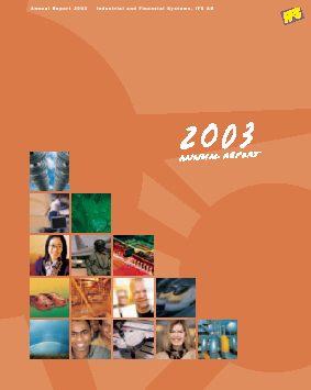 Industrial & Financial Syst. annual report 2003