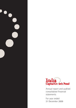 India Capital Growth Fund annual report 2009