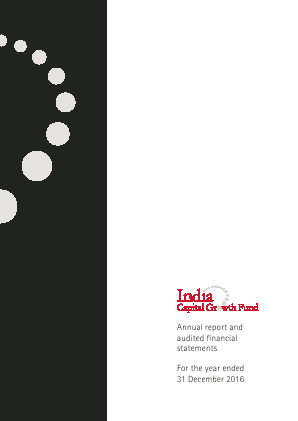 India Capital Growth Fund annual report 2016