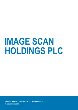 Image Scan Holdings annual report 2018
