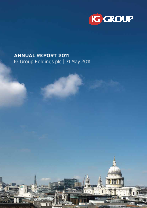 IG Group Holdings annual report 2011